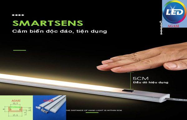 đèn hắt tủ bếp