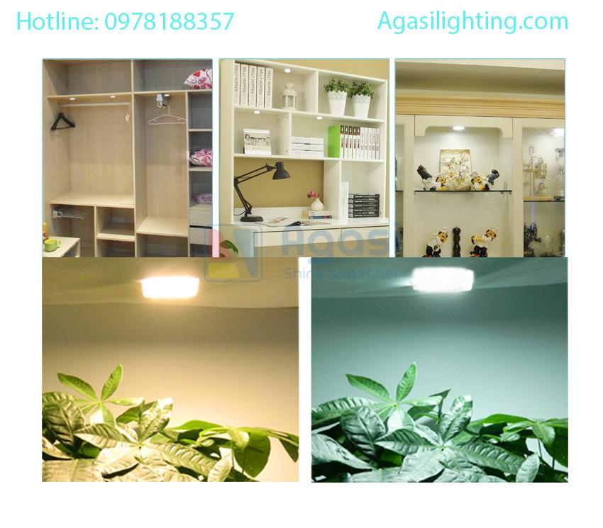 đèn cabinet sử dụng để chiếu sáng trong các hệ tủ