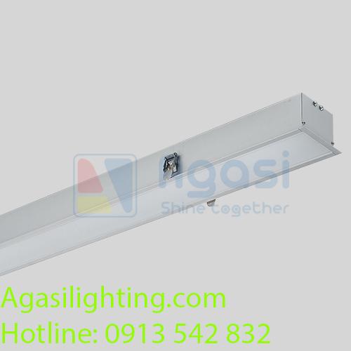 Đèn thanh nhôm profile âm trần