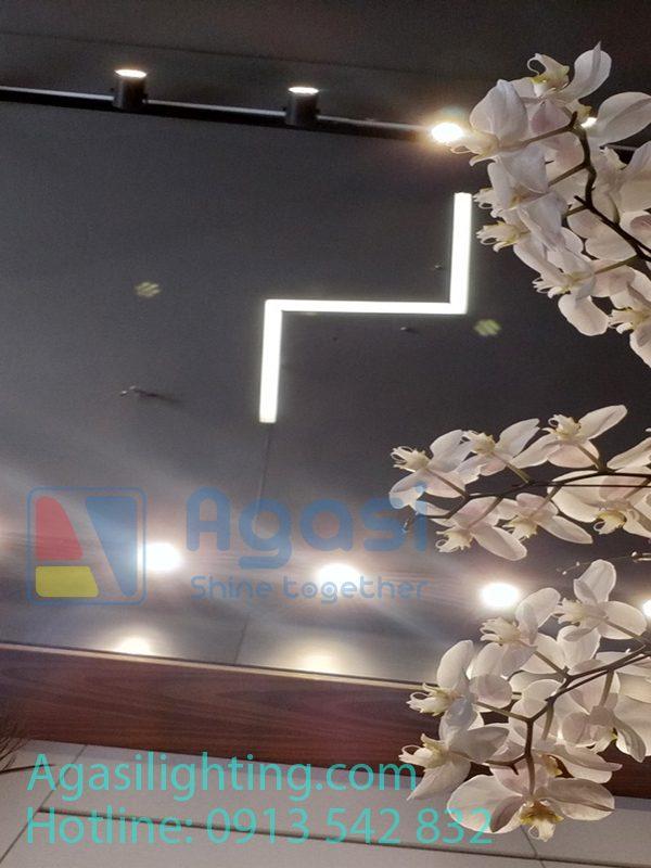 thanh nhôm profile TH-5035 chuyên được ứng dụng là đèn thả đèn treo văn phòng, sảnh, showroom....