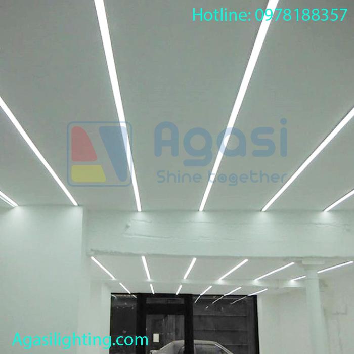 ứng dụng thanh nhôm định hình led vào trang trí và chiếu sáng.