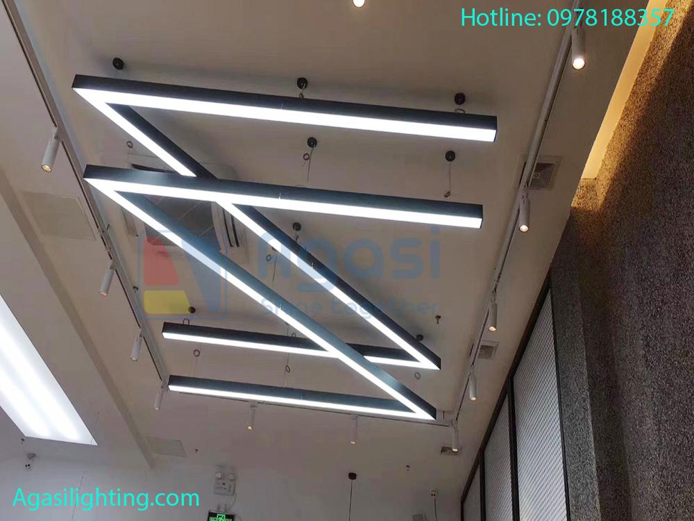 Thanh nhôm TH-5035 được sử dụng để tạo hình và tạo chữ. Thanh nhôm đinh hình đèn led được sử dụng rất nhiều trong trang trí và chiếu sáng.