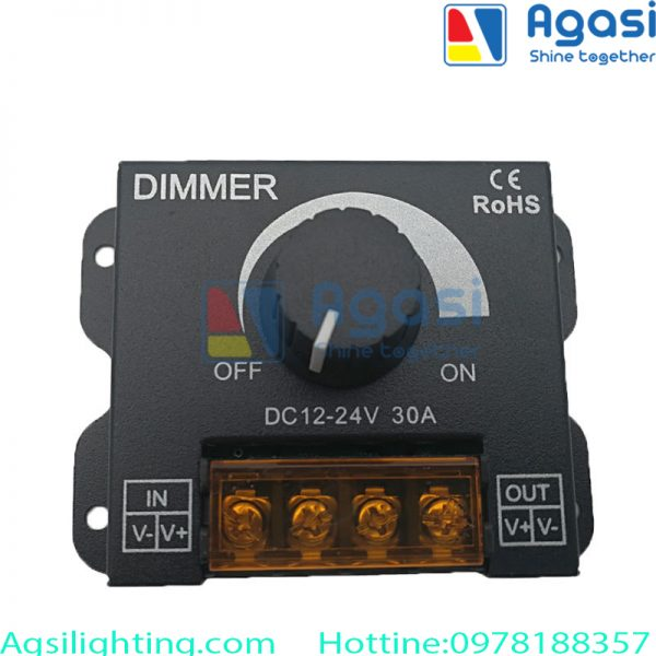 Dimmer cơ có chức năng tăng giảm độ sáng của hệ đèn led