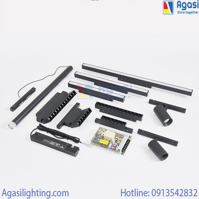 Agasi đơn vị phân phối và thi công đèn ray nam châm uy tín